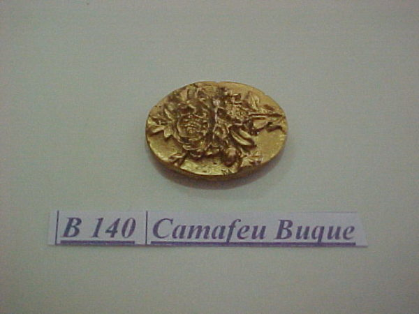 Forma de Silicone de Camafeus