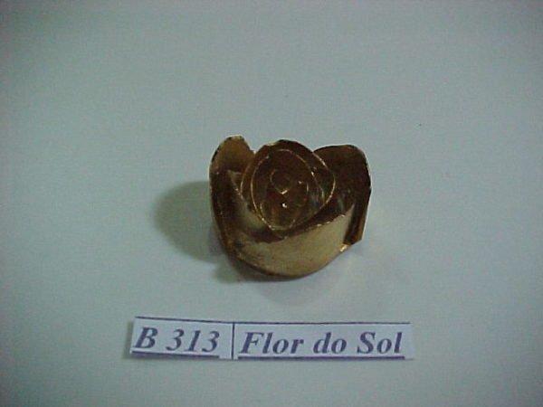 Forma de Silicone de Flores e Folhas